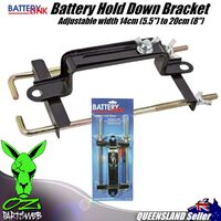 Car Battery Holder down Bracket Clamp Metal Fully Adjustable Ideal Car BHS4