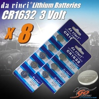 8 x CR1632 Lithium 3 volt Coin Battery Local Stock 3v same as DL1632 & ECR1632