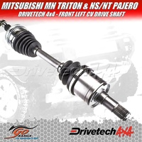 DRIVETECH CV DRIVE SHAFT DTS-553 MITSUBISHI FOR MN/NS/NT TRITON/PAJERO FRNT LEFT