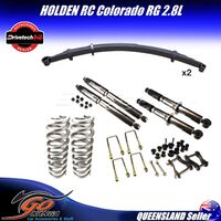 HOLDEN RG COLORADO 06/12 ON DRIVETECH 4X4 DTSK-HOL03J LIFT KIT EXTRA HEAVY DUTY