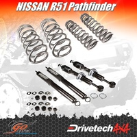 NISSAN R51 PATHFINDER DRIVETECH 4X4 DTSK-NIS06H LIFT KIT HEAVY DUTY COMFORT RIDE