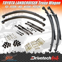 TOYOTA LANDCRUISER 75 SERIES DRIVETECH 4X4 DTSK-TOY04H LIFT KIT HEAVY DUTY ENDURO