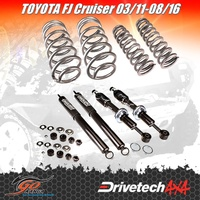 DRIVETECH 4X4 DTSK-TOY07H LIFT KIT EXTRA HD fits TOYOTA FJ CRUISER 03/11-08/16