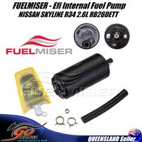 FUELMISER FPE-284 Efi Internal Fuel Pump suits NISSAN SKYLINE R34 2.6L RB26DETT