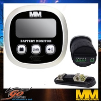 MEAN MOTHER DUAL BATTERY SYSTEM MONITOR 52MM AMP VOLT METER SHUNT MMDBM