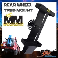 MEAN MOTHER RECOVERY BOARD HOLDER REAR WHEEL MOUNT SUIT TRED MAXTRAX MMRWH