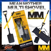 MEAN MOTHER MULTI SHOVEL AND BAG CAMPING SPADE OFF ROAD TOOL 4WD 4X4 GEAR MMSHV