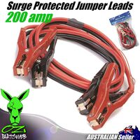 Heavy Duty 200AMP Jumper Leads 2.7M Surge Protected SB200SG Car Booster Cables