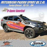 SAFARI 4X4 SS667HF SNORKEL for MITSUBISHI PAJERO SPORT QE 2.4L Turbo Diesel 10/15 ON
