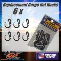Cargo Net Hooks 6 Pack Replacement suits Ute Tray universal