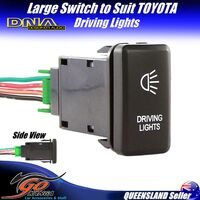 DNA Large Switch To Suit Toyota Driving Lights Direct Fit Large Socket TOYSW02DL