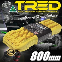 TRED08Y TOTAL RECOVERY DEVICE 800MM YELLOW 4X4 4WD MUDTRAX TREDS