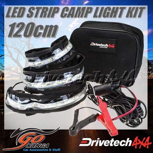 DRIVETECH 4x4 DRI4X4 LED STRIP LIGHT 120CM for CAMPING AND AWNINGS