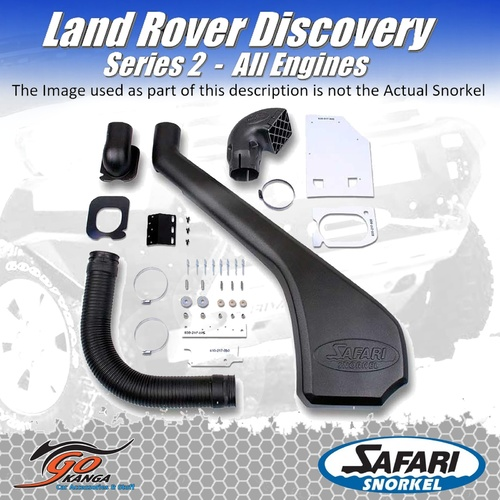 SAFARI 4X4 SS395HF SNORKEL for LAND ROVER DISCOVERY SERIES 2 All Engines 01/99- 12/04